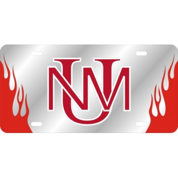 University Of New Mexico Laser License Plate