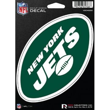 New York Jets Die Cut Vinyl Decal