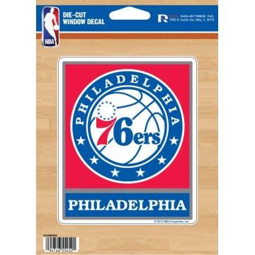 Philadelphia 76ers Die Cut Vinyl Decal