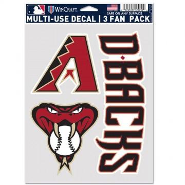 Arizona Diamondbacks 3 Fan Pack Decals