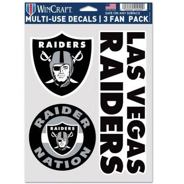 Las Vegas Raiders 3 Fan Pack Decals