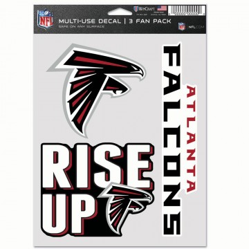 Atlanta Falcons 3 Fan Pack Decals