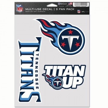 Tennessee Titans 3 Fan Pack Decals