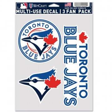 Toronto Blue Jays 3 Fan Pack Decals