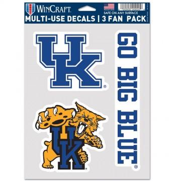 Kentucky Wildcats 3 Fan Pack Decals