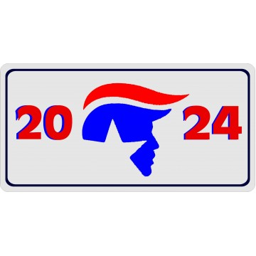 2024 Election Photo License Plate