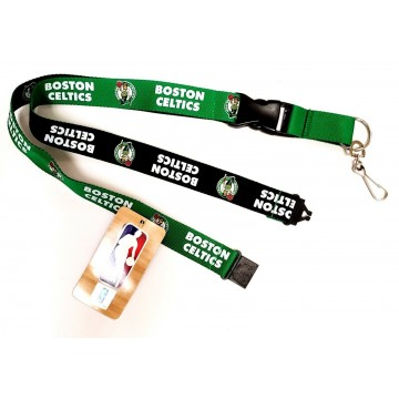 Boston Celtics Two Tone Lanyard With Neck Safety Latch