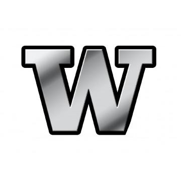 Washington Huskies 3D Metal Auto Emblem