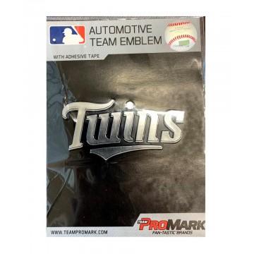 Minnesota Twins MLB Plastic Auto Emblem