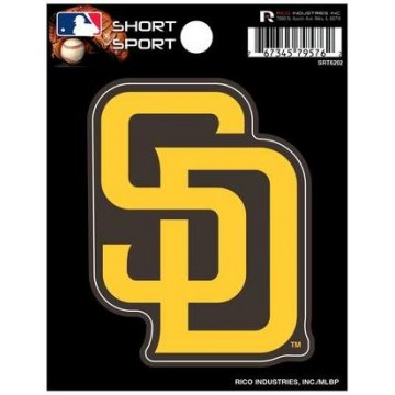 San Diego Padres Short Sport Decal