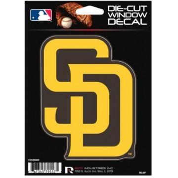 San Diego Padres Die Cut Vinyl Decal