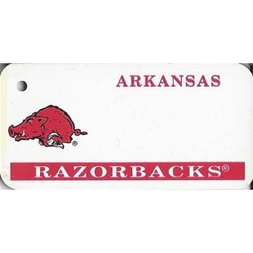 Arkansas Razorbacks NCAA Key Chain
