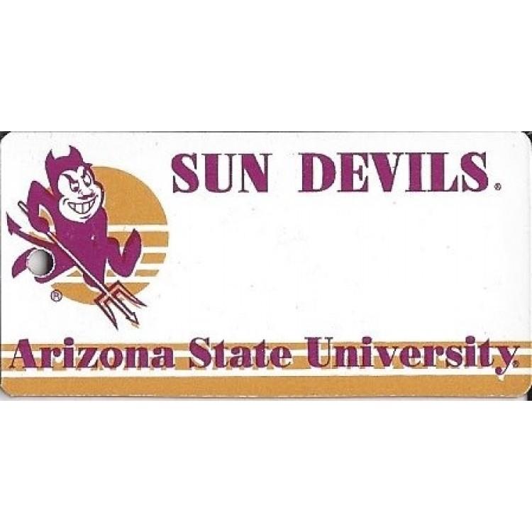 Arizona State NCAA Key Chain