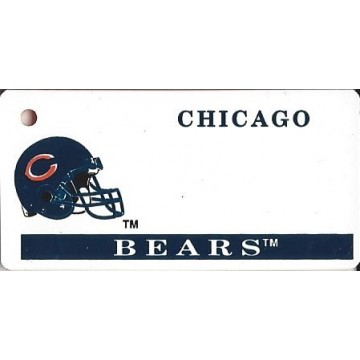 Chicago Bears NFL Keychain