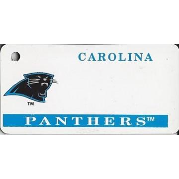 Carolina Panthers NFL Keychain