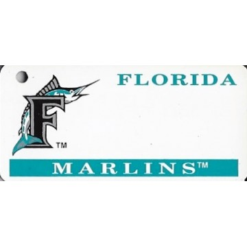Florida Marlins MLB Keychain