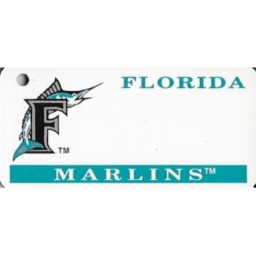 Florida Marlins MLB Keychain