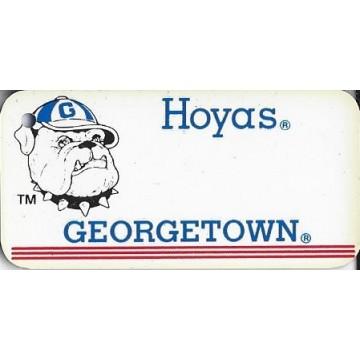 Georgetown Hoyas NCAA Keychain