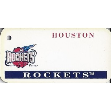 Houston Rockets NBA Keychain
