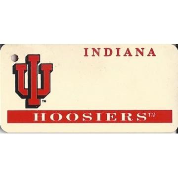 Indiana Hoosier NCAA Keychain