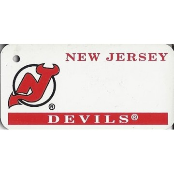 New Jersey Devils NHL Key Chain