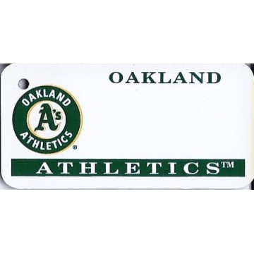 Oakland Athletics MLB Key Chain
