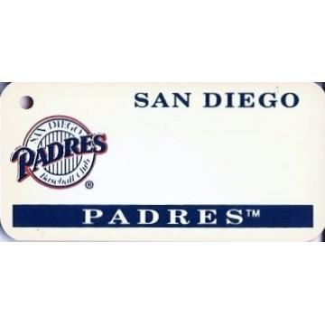 San Diego Padres MLB Key Chain