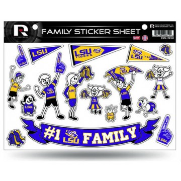 LSU Tigers Family Decal Set