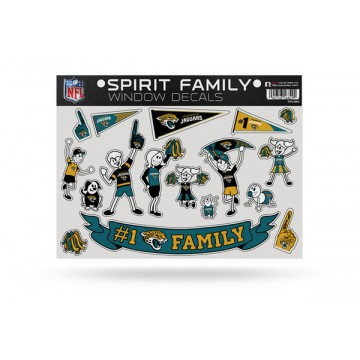 Jacksonville Jaguars Family Decal Set