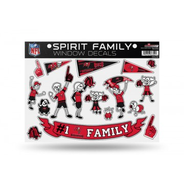 Tampa Bay Buccaneers Family Decal Set