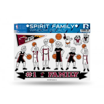 Miami Heat Family Decal Set