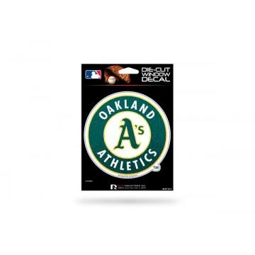 Oakland Athletics Glitter Die Cut Vinyl Decal