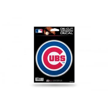 Chicago Cubs Glitter Die Cut Vinyl Decal