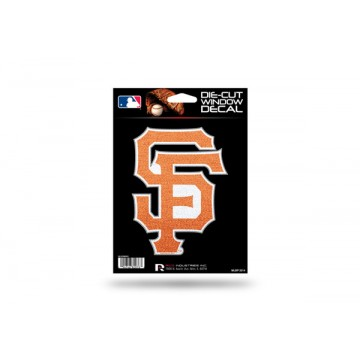 San Francisco Giants Glitter Die Cut Vinyl Decal