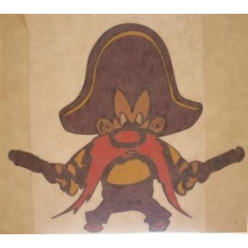 "Yosemite Sam 4"" x 3 1/2"" Decal"