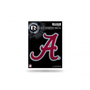 Alabama Crimson Tide Glitter Die Cut Vinyl Decal