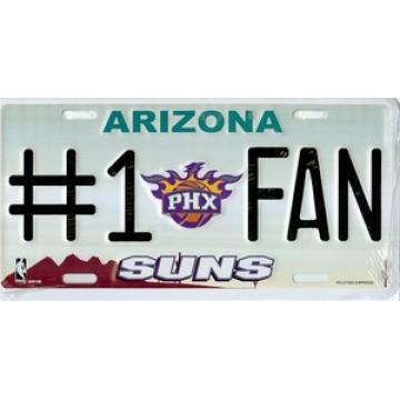 Phoenix Suns #1 Fan License Plate