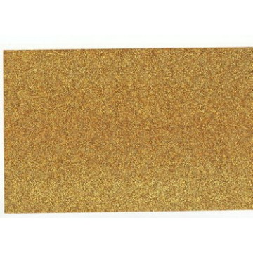 "8"" x 14"" Yellow Gold Dazzle on Beta Form"