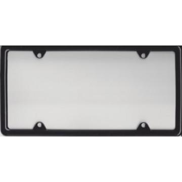 Zinc Alloy Black Metal License Plate Frame