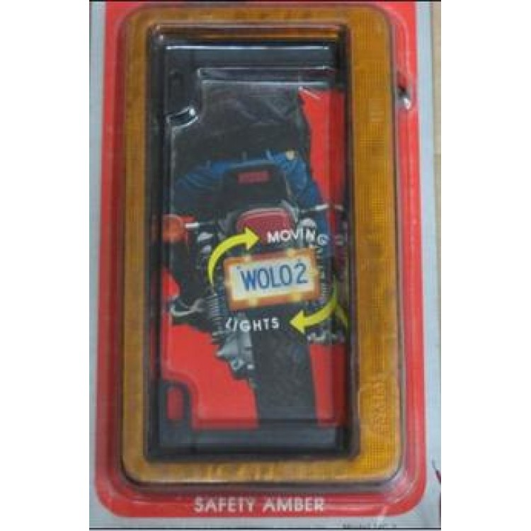 Safety Amber Night Lighter for Motorcycles Only