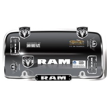 Dodge Ram Chrome License Plate Frame
