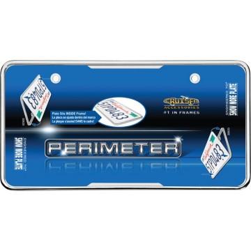 Perimeter Chrome License Plate Frame