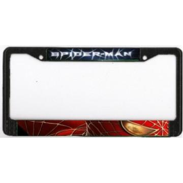 Spider-Man Chrome License Plate Frame