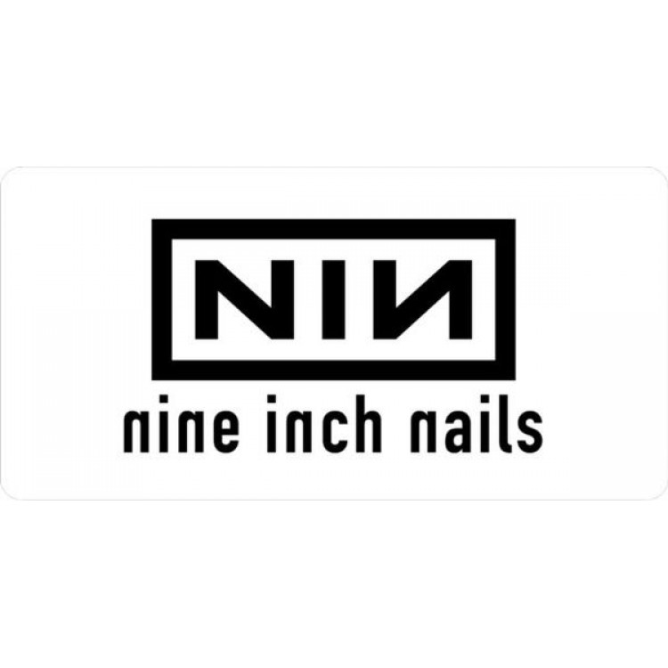 Nine Inch Nails Photo License Plate