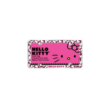 Hello Kitty Plastic License Plate Frame