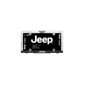 Jeep Front Grille Chrome License Plate Frame