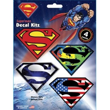 Superman Variety Pack Decal Set