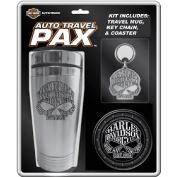 Harley-Davidson Auto Travel Pax Mug Set