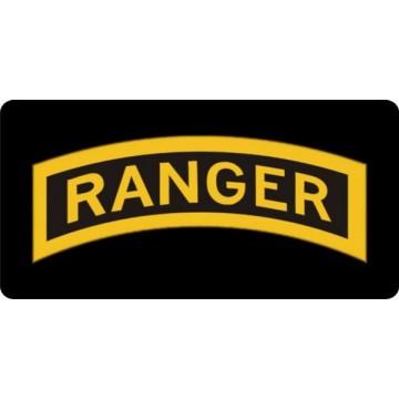 Ranger Photo License Plate