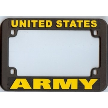Army Motorcycle License Plate Frame